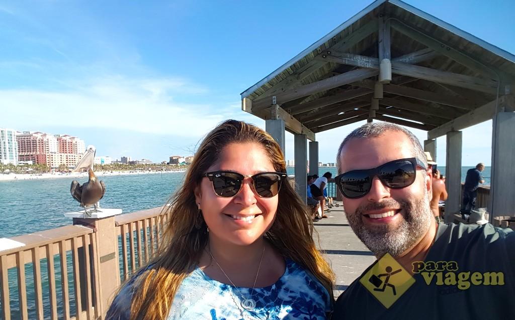 Pier 60 em Clearwater Beach na Flórida
