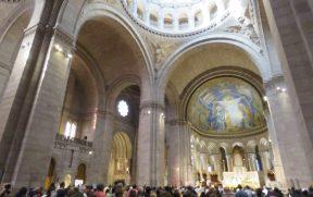 Interior da Basílica de Sacre-Coeur