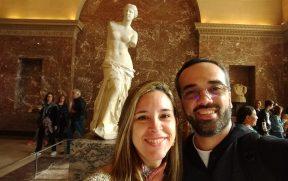 Registrando a Vênus de Milo no Louvre