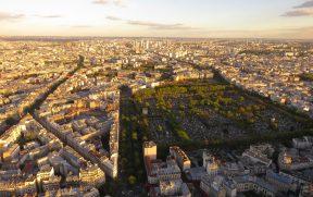 Cidade de Paris vista da Torre Montparnasse