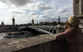 Ponte Alexandre III sobre o Rio Sena