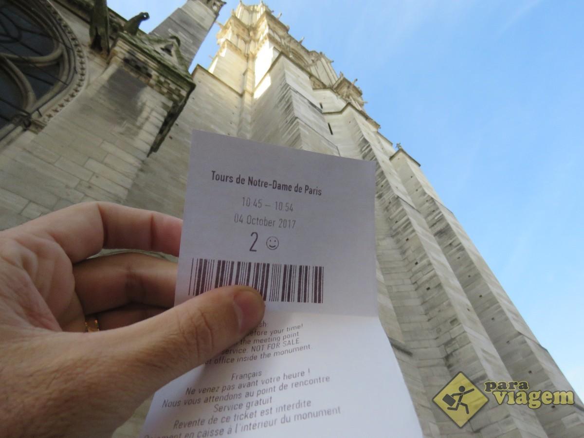 Reserva para a Torre de Notre Dame