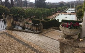 Os jardins do Alcázar