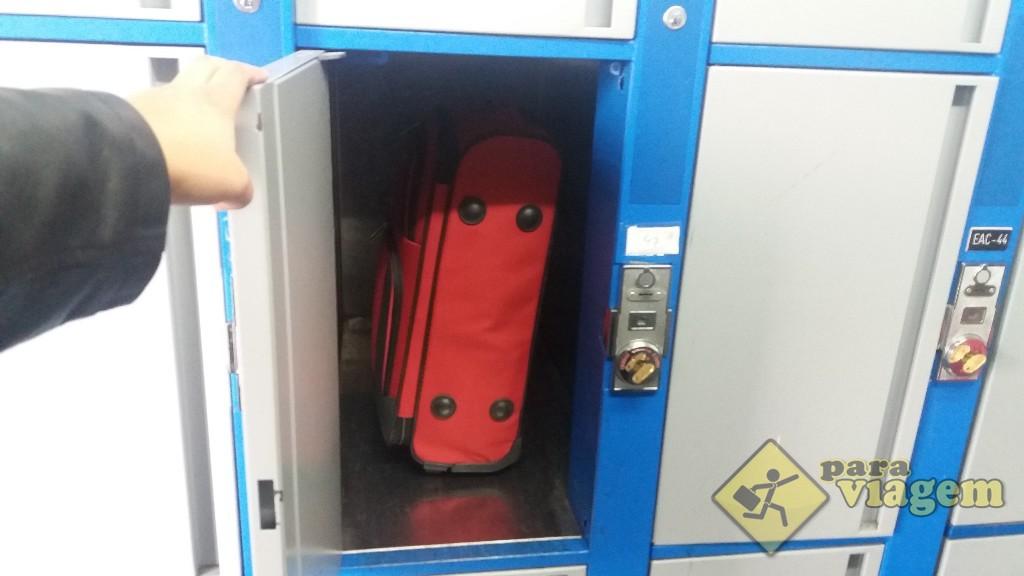... e são pequenos (essa mala aí é a tamanho P)