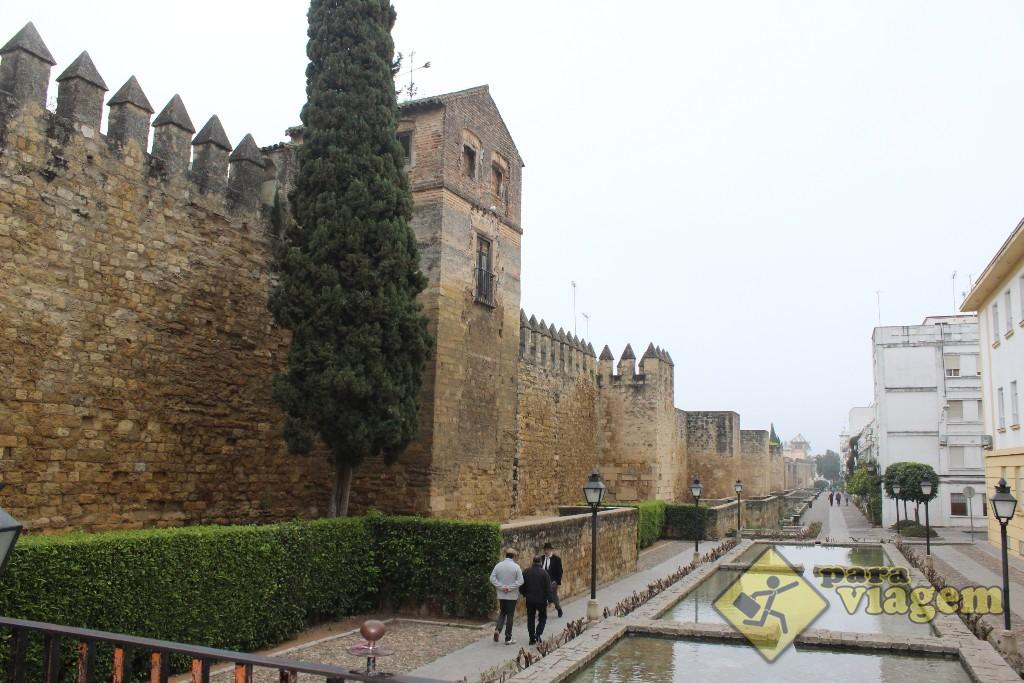 A antiga muralha de Córdoba