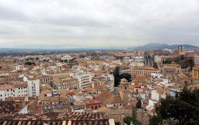 Vista de Granada do Mirador de la Lona