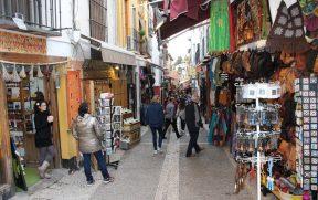 Calle Caldería Nueva em Granada