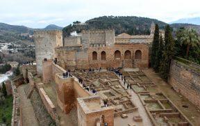 Alcazaba: a antiga fortaleza