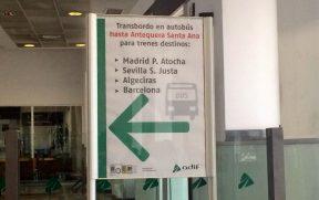 A estação de Granada está funcionando parcialmente