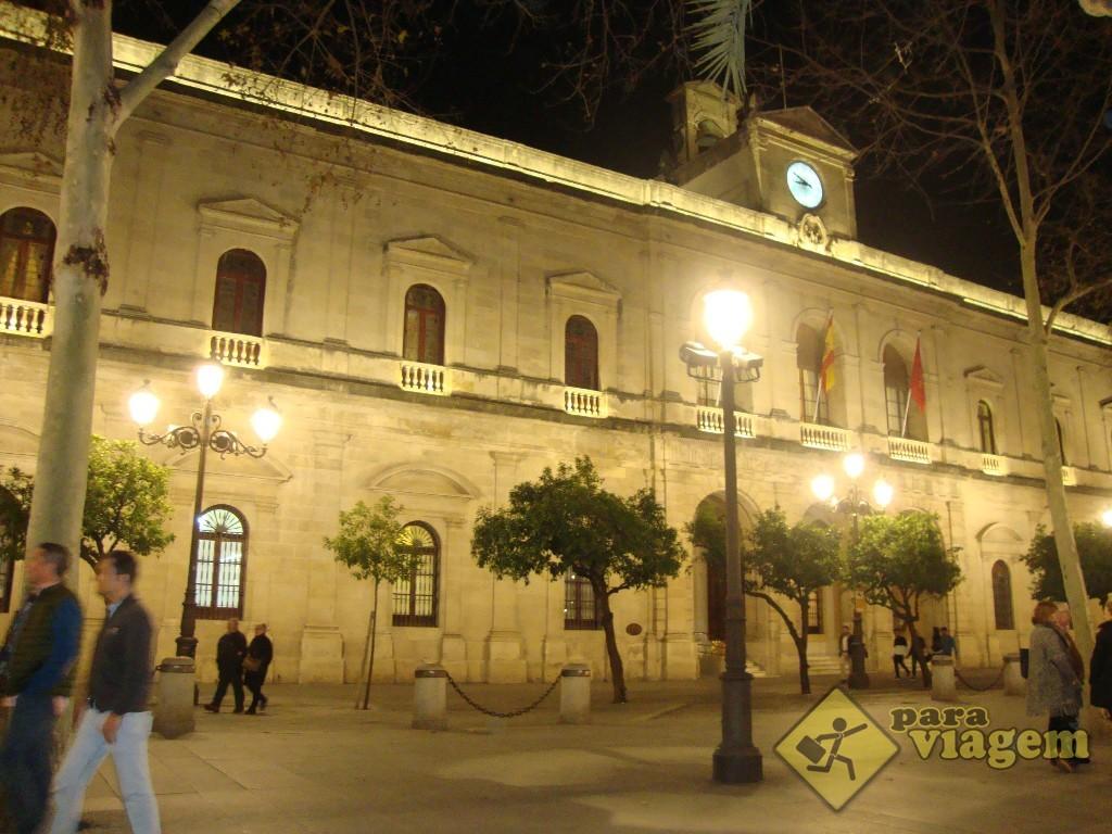 Ayuntamiento : a Prefeitura de Sevilha