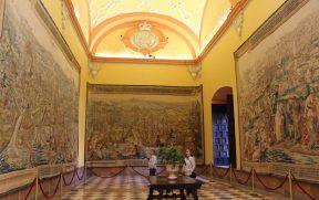 Tapeçarias no Palacio Gótico