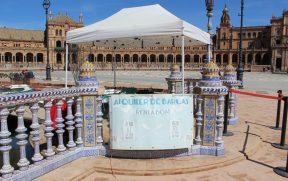 Preço do aluguel de barcos na Plaza de España em Sevilha