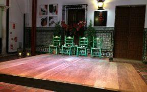 No La Casa del Flamenco – Auditório Alcântara, ficamos pertinho do palco