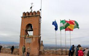 No topo da Torre de la Vela