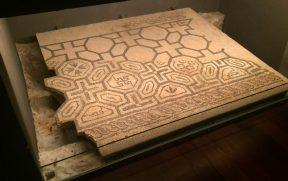 Mosaico romano no MUHBA Pç. del Rei