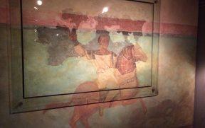 Pintura romana original de Barcino