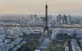 Torre Eiffel vista da Torre Montparnasse