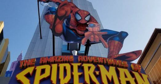 The Amazing Adventures of Spider-Man no Island of Adventure