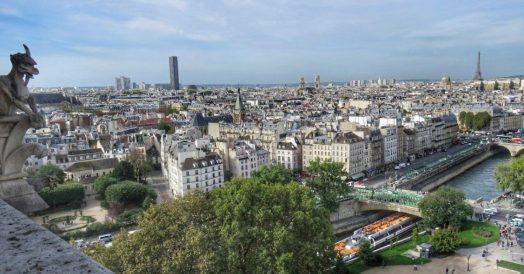 Paris vista da Torre de Notre Dame