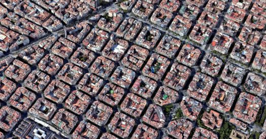Eixample em Barcelona