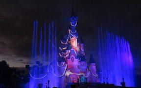 Show com Águas e Luzes no Disney Illuminations