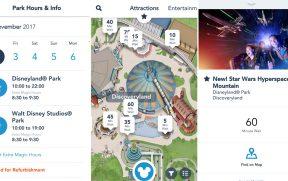 Aplicativo da Disneyland Paris para Celular
