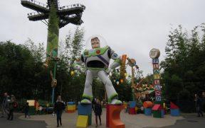 Decoração do Toy Story no Disney Studios
