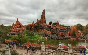 Big Thunder Mountain da Disney de Paris
