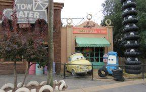 Personagens do Carros no Walt Disney Studios