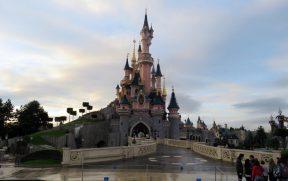 Castelo do Disneyland Park em Paris