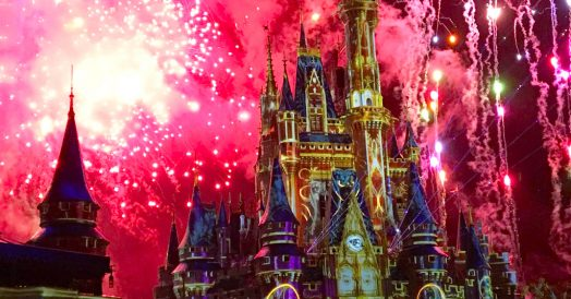 """Happily Ever After"" o novo show noturno do Magic Kingdom"