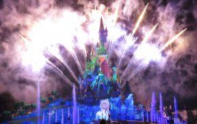 Fogos do Show Disney Illuminations