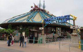 Entrada da Hyperspace Mountain da Disneyland Paris