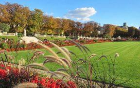 Jardins de Luxemburgo em Paris