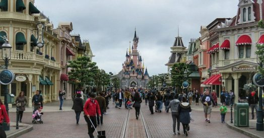Main Street na Disneyland de Paris