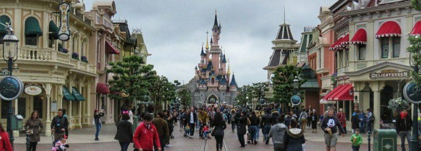 Main Street na Disneyland de Paris