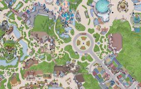 Mapa Virtual da Disneyland Paris