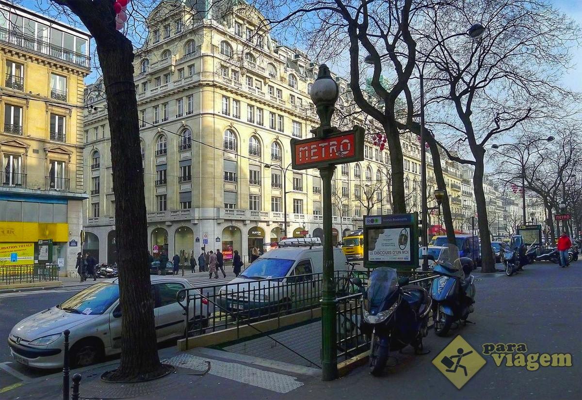 Estação de Metrô Grands Boulevards