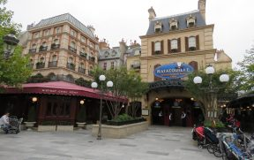 Entrada do Ratatouille no Walt Disney Studios
