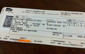 Reserva de Trem TGV da Companhia SNCF