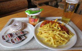 Almoçando no Restaurante Sonn Alpin