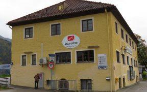 Zugspitzbahn: Estação do Trem de Cremalheira