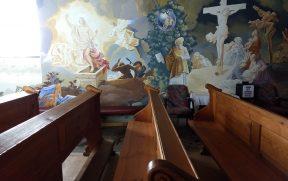 Pinturas na Parede da Capela