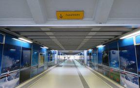 Túnel na Estação de Garmisch-Partenkirchen