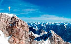 Zugspitze: Vista do Topo da Alemanha