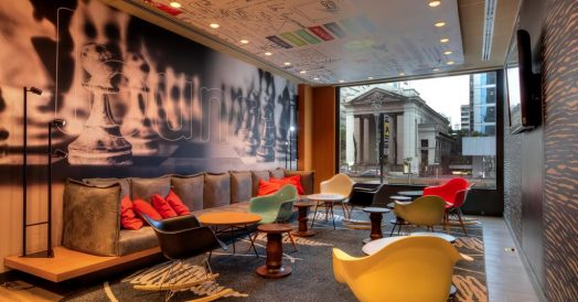 Lounge do ibis Paulista