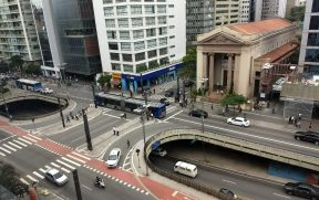 Avenida Paulista vista do ibis