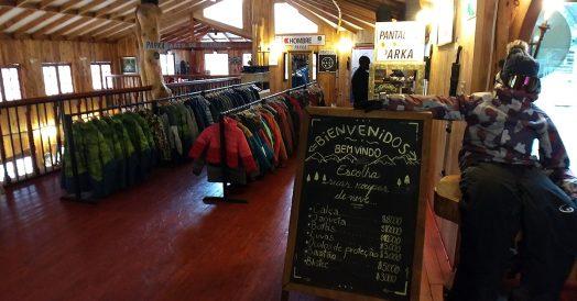 Aluguel de roupas de neve em Cajón del Maipo