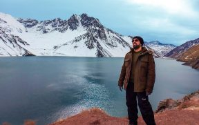 Modelando no Embalse El Yeso