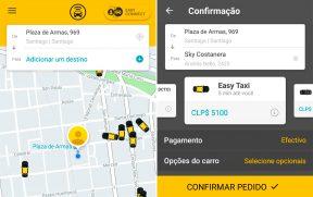 Easy Taxi em Santiago